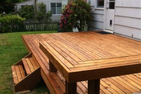 How To Build A Deck by Building A Deck Is How One Initiated Their New Home