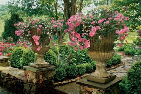 Raised Urns Spectacular Container Gardening Ideas Southern Garden Ideas