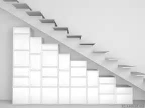 regal treppe regal unter treppe und dachschr 228 ge cubit