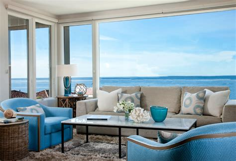 beach living grey couch living room living room transitional with