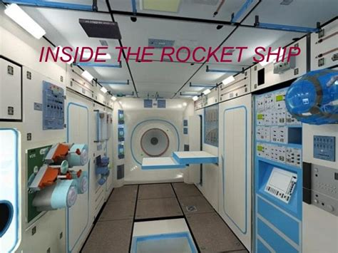 What Does The Of The Interior Do by Inside The Rocket Ship
