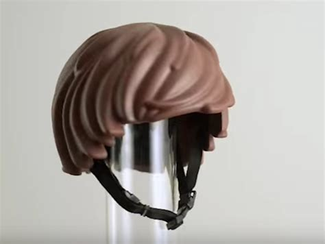 helmet hair cycling it s the lego hair bike helmet designed to motivate