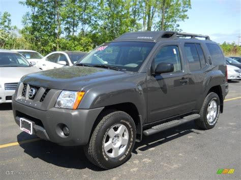 2008 Night Armor Dark Gray Nissan Xterra S 4x4 50502230
