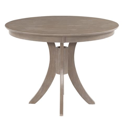 36 pedestal table cosmopolitan weathered grey dining room pedestal table 48
