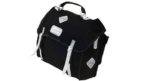 Carradice City Folder M Bag Black White Straps city folder m used