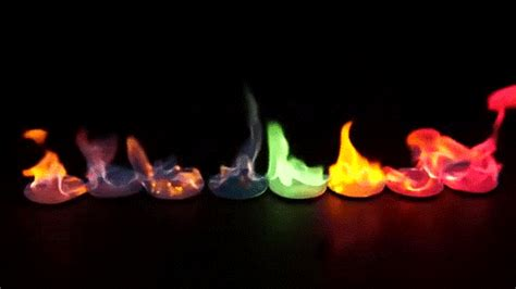 color flames color gif find on giphy