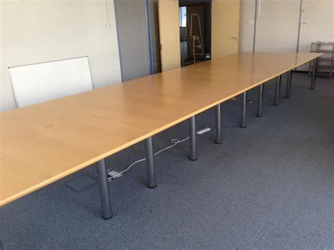 Sven Boardroom Table Sven Oak Veneer 6500x1800 Boardroom Table