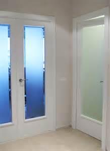 Interior Illusions Home pin puertas interiores lacadas con cristales al 225 cido