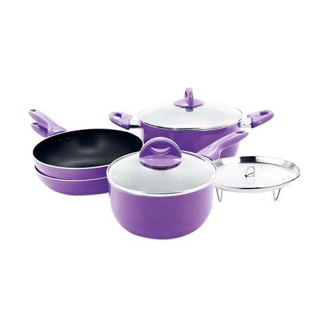 Produk Brand Happy Mini Canada jual supra happy cook panci set ungu harga kualitas terjamin blibli