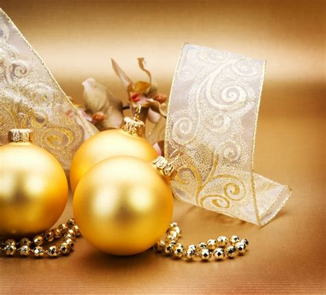 golden christmas decorations christmas photo 22230462