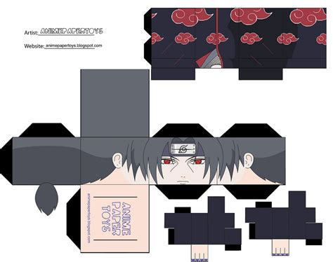 Cool Papercraft - cool akatsuki papercraft japan media