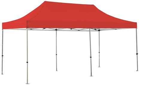 Canopy Is Solid Color 20 Canopy Tent Kit Tradeshowdisplaypros
