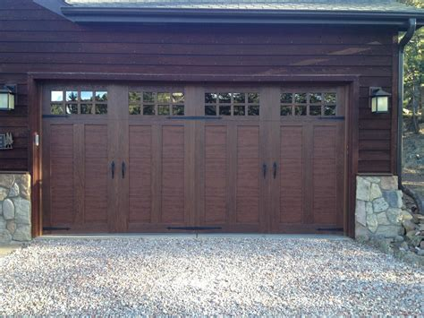 top faux wood garage doors faux wood garage doors