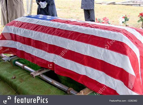 flag draped coffin cemetery flag draped coffin stock picture i2282362 at