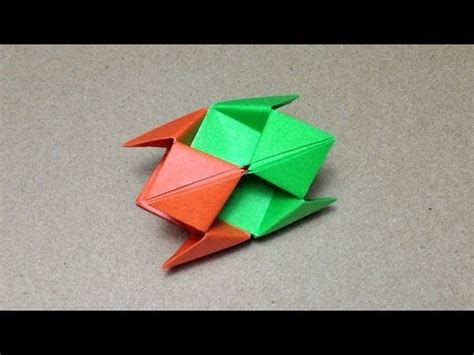 How To Make A Origami Spike Step By Step - clip hay transforming paper origami spike