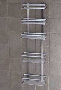 shower caddy shelves satina chrome 5 tier large shower caddy shelf bathroom