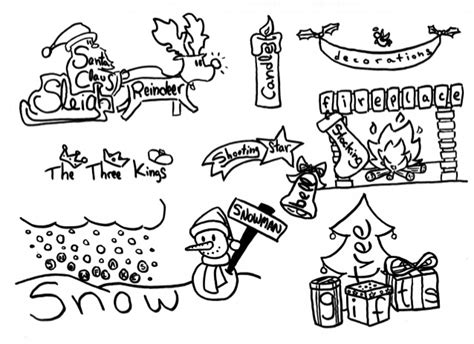 ideas on how to draw names for christmas card drawing ideas easy happy holidays