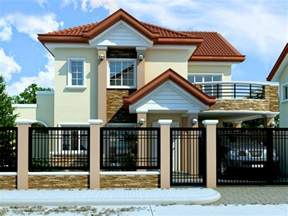 33 Beautiful 2 Storey House Photos House Design For Small Lot Area In The Philippines