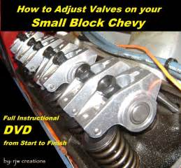 how to adjust valves on your small block chevy dvd info