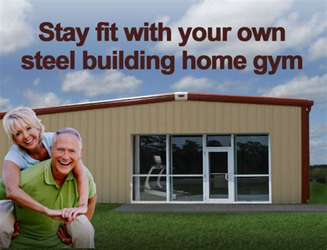 building a backyard gym get fit in a metal building home gym build your own gym