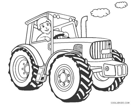 tractor coloring pages free printable tractor coloring pages for cool2bkids