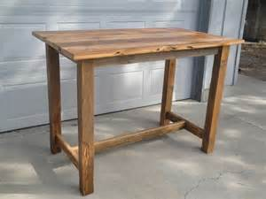 Wooden Bar Table Carlseng Designs Reclaimed Wood Table