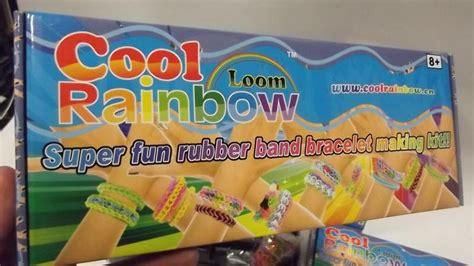 Rainbow Merk loombandjes starterset cool rainbow merk 4 complete sets