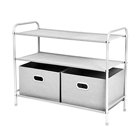 Clothes Rack With Drawers by Closet Organizer Collection Maidmax 3 Tier Shelves