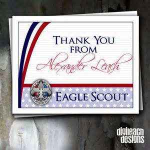 eagle scout court of honor thank you note and
