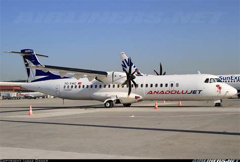 Bor Jet atr atr 72 500 atr 72 212a anadolujet borajet aviation photo 1835903 airliners net