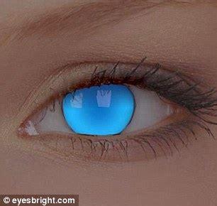 megérkezett a jövő a világító kontaktlencsékkel! | hír.ma