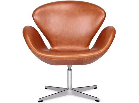 Arne Jacobsen Sessel by Swan Chair By Arne Jacobsen Leather Platinum Replica