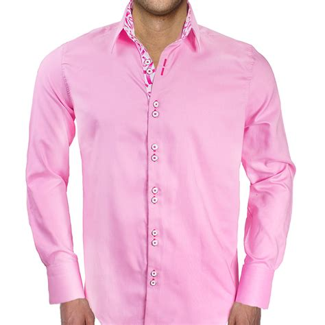 Ribbon Shirt Pink by Pink Breast Cancer Awareness Dress Shirts