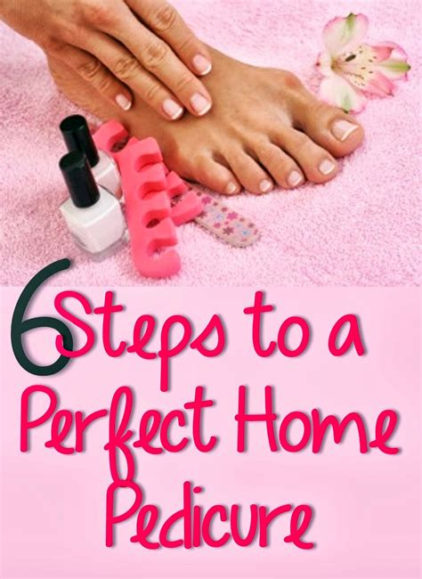 Steps To A Great Home Pedicure by 6 Steps To A Home Pedi You Put It On