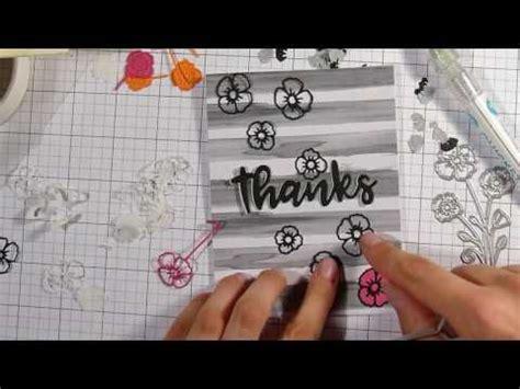 tutorial carding aliexpress card making using aliexpress dies paper piecing flowers