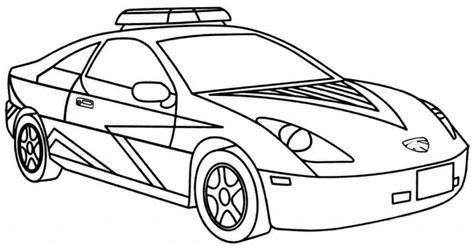 police car coloring page free get this printable police car coloring pages 42472