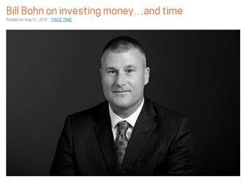 bill bohn shares insights about investing as well as time