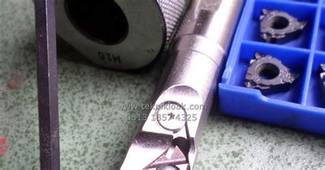 Baut Probolt Cnc Ukuran L4 Drat 8 Panjang 15mm Stanlis paket holder ulir dan insert ulir drat diameter dalam teknik elektrik cutting tool