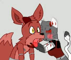 Fnaf foxy can believe this new oc by bloodsplait