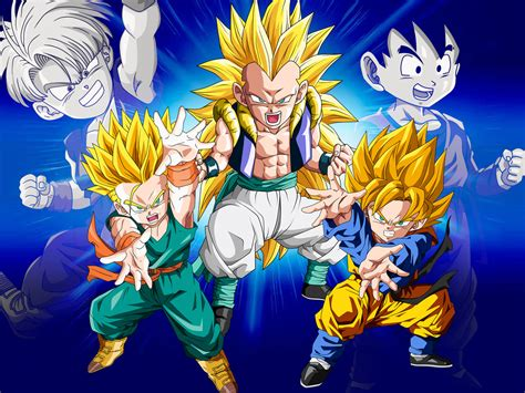 wallpapers dragon ball z fusion dragon ball all fusion images gotenks hd wallpaper and