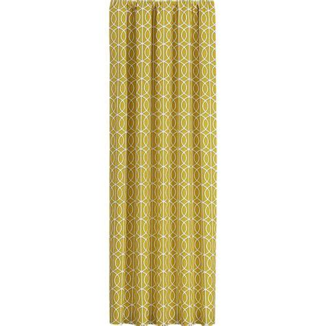 crate and barrel drapes bella porte citrine curtain panels crate and barrel