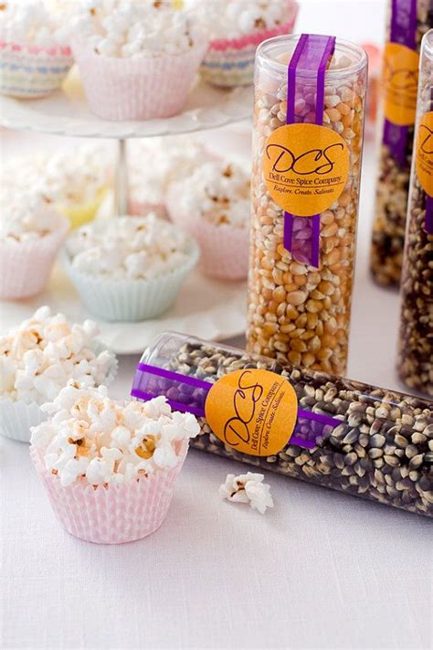 7 Treats For Guests by Popcorn Corporate Gifts Wedding Favors Tasty Guest