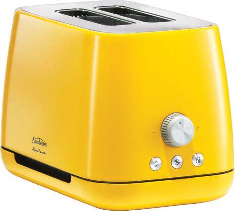 Yellow Toasters Sale Sunbeam Ta8820y Marc Newson Toaster Vibrant Yellow