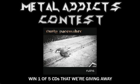 metal addicts contest we re giving away 5 cd copies of