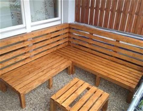 balkon sofa selber bauen outdoor lounge selber bauen garten holz m 246 bel sommer bau