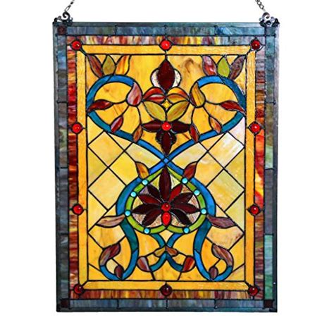 trendy and timeless stained glass home decor