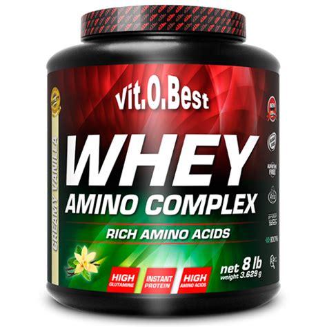 Whey Amino Whey Amino Complex 3 6 Kg Vitobest Sources