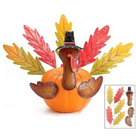 pumpkin kit turkey decor only 22 95 at garden fun