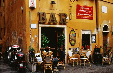 What Can Expect Bars by What To Expect When You Go To A Bar In Italy