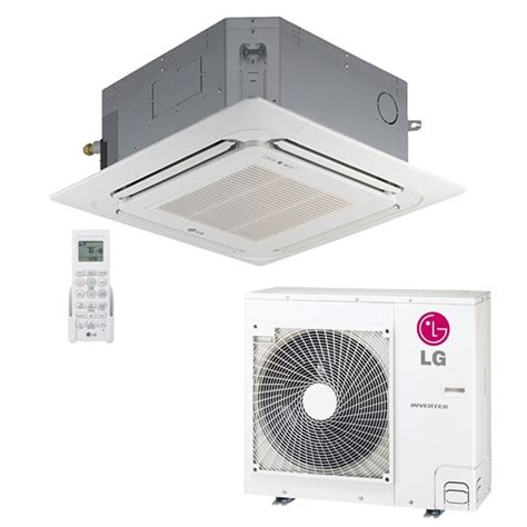 ductless mini split cassette lg 24 000 btu 17 seer ceiling cassette ductless mini split